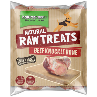 Natures Menu Beef Knuckle bones Dog Food - Frozen Natures Menu