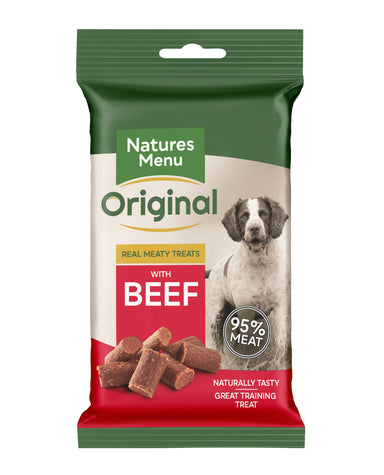 Natures Menu Beef Mini Treats Dog Treats Natures Menu
