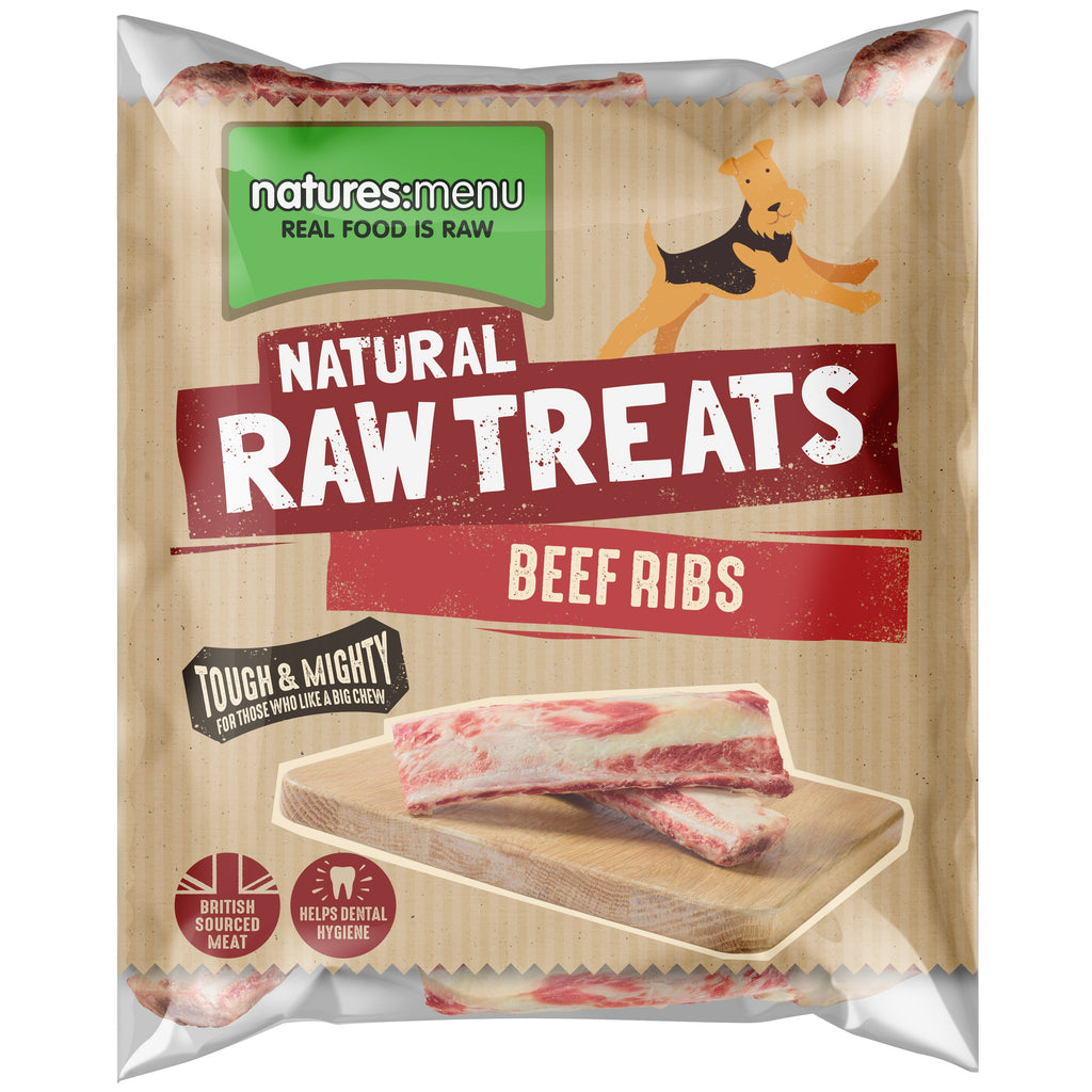 Natures Menu Beef Ribs Dog Food - Frozen Natures Menu