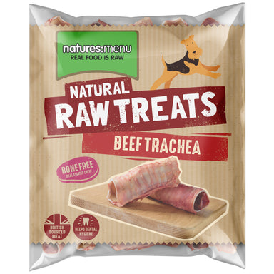 Natures Menu Beef Trachea Dog Food - Frozen Natures Menu