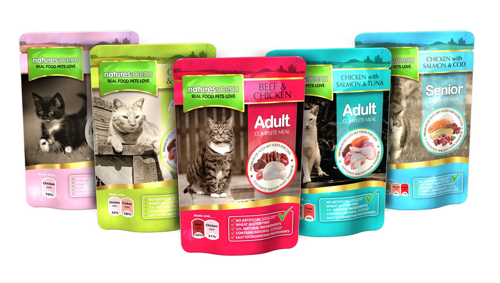 Natures Menu Cat Food Pouches Cat Food - Wet Natures Menu