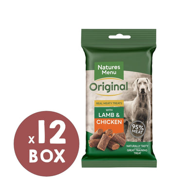 Natures Menu Chicken & Lamb Mini Treats x 12 Dog Treats Natures Menu