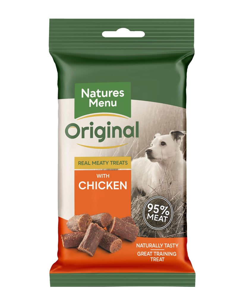 Natures Menu Chicken Mini Treats Dog Treats Natures Menu