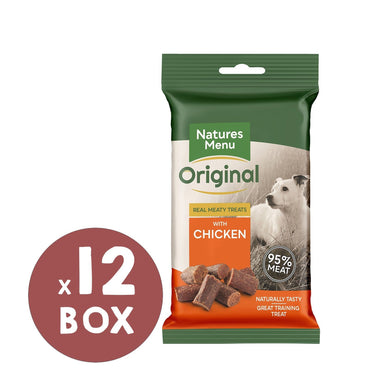Natures Menu Chicken Mini Treats x 12 Dog Treats Natures Menu