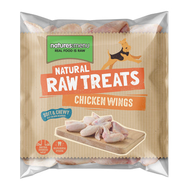Natures Menu Chicken Wings Dog Food - Frozen Natures Menu