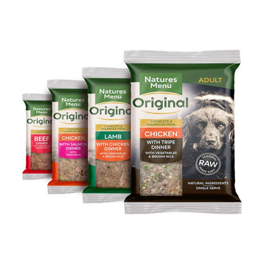 Natures Menu Complete Dinner Multipack Dog Food - Frozen Natures Menu