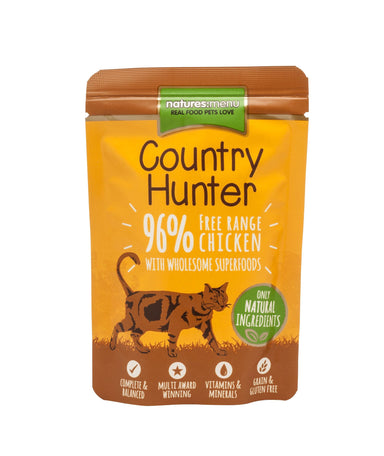 Natures Menu Country Hunter Chicken Cat Food - Wet Natures Menu