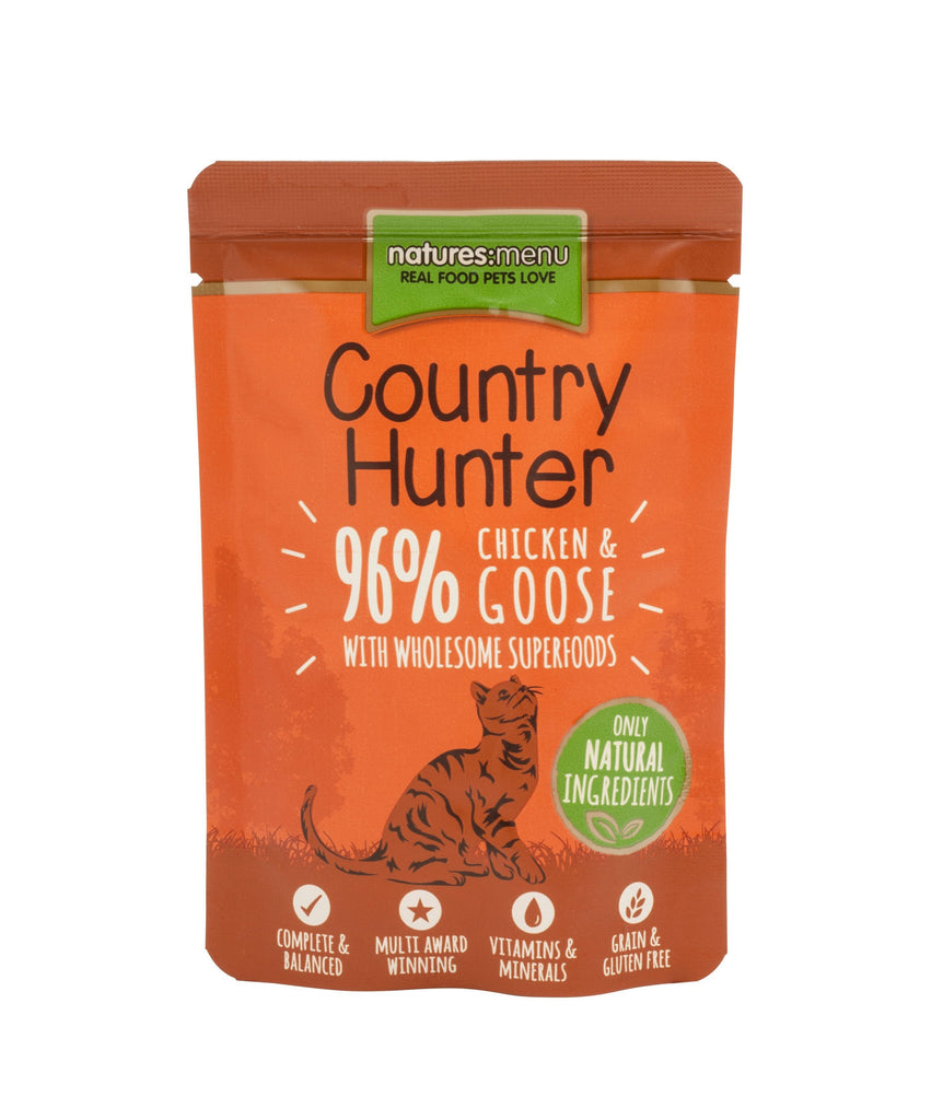 Natures Menu Country Hunter Chicken & Goose Cat Food - Wet Natures Menu