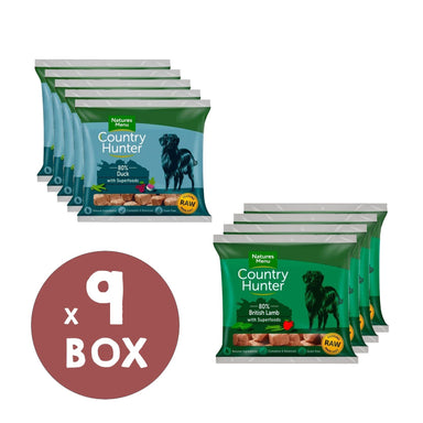 Natures Menu Country Hunter Duck and Lamb Bundle Dog Food - Frozen Natures Menu