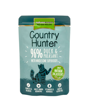 Natures Menu Country Hunter Duck & Pheasant Cat Food - Wet Natures Menu