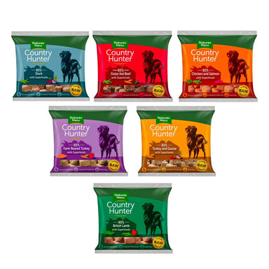 Natures Menu Country Hunter Offer Dog Food - Frozen Natures Menu