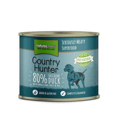 Natures Menu Country Hunter Succulent Duck Can Dog Food - Wet Natures Menu