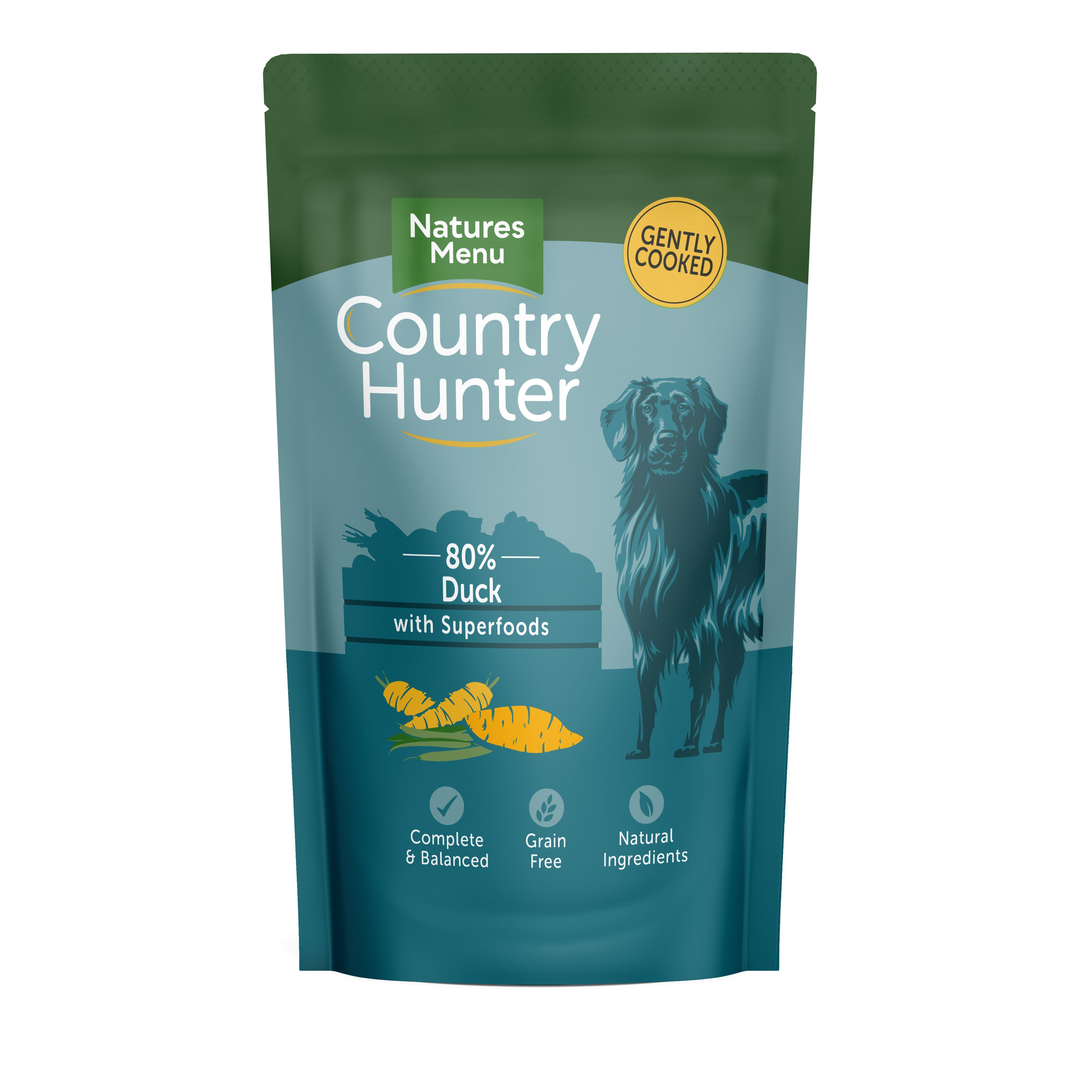 Natures Menu Country Hunter Succulent Duck Dog Food - Wet Natures Menu