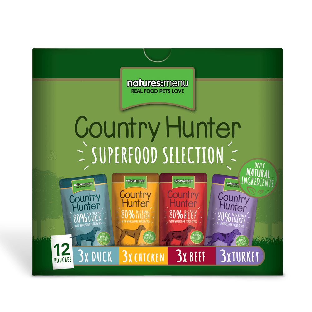 Natures Menu Country Hunter Superfood Selection for Dogs Dog Food - Wet Natures Menu