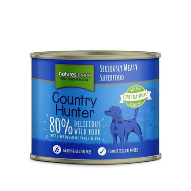 Natures Menu Country Hunter Wild Boar Can Dog Food - Wet Natures Menu