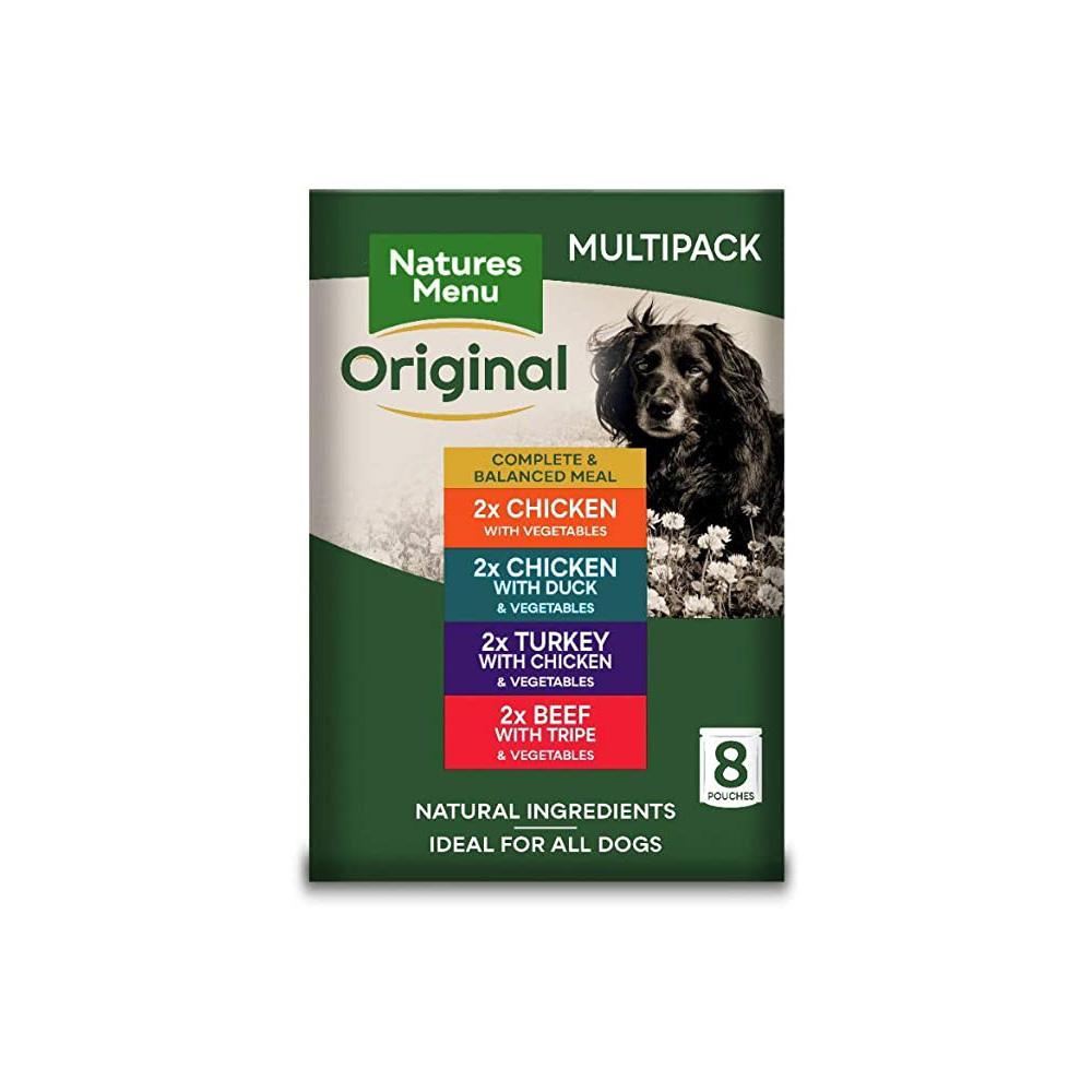Natures Menu Dog Food Pouch - Multipack Dog Food - Wet Natures Menu
