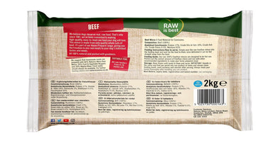 Natures Menu Freeflow Beef Dog Food - Frozen Natures Menu