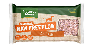 Natures Menu Freeflow Chicken Dog Food - Frozen Natures Menu