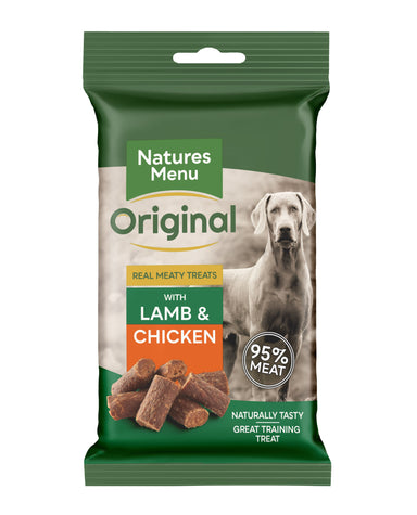 Natures Menu Lamb Mini Treats Dog Treats Natures Menu