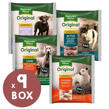 Natures Menu Nuggets Variety Bundle Dog Food - Frozen Natures Menu