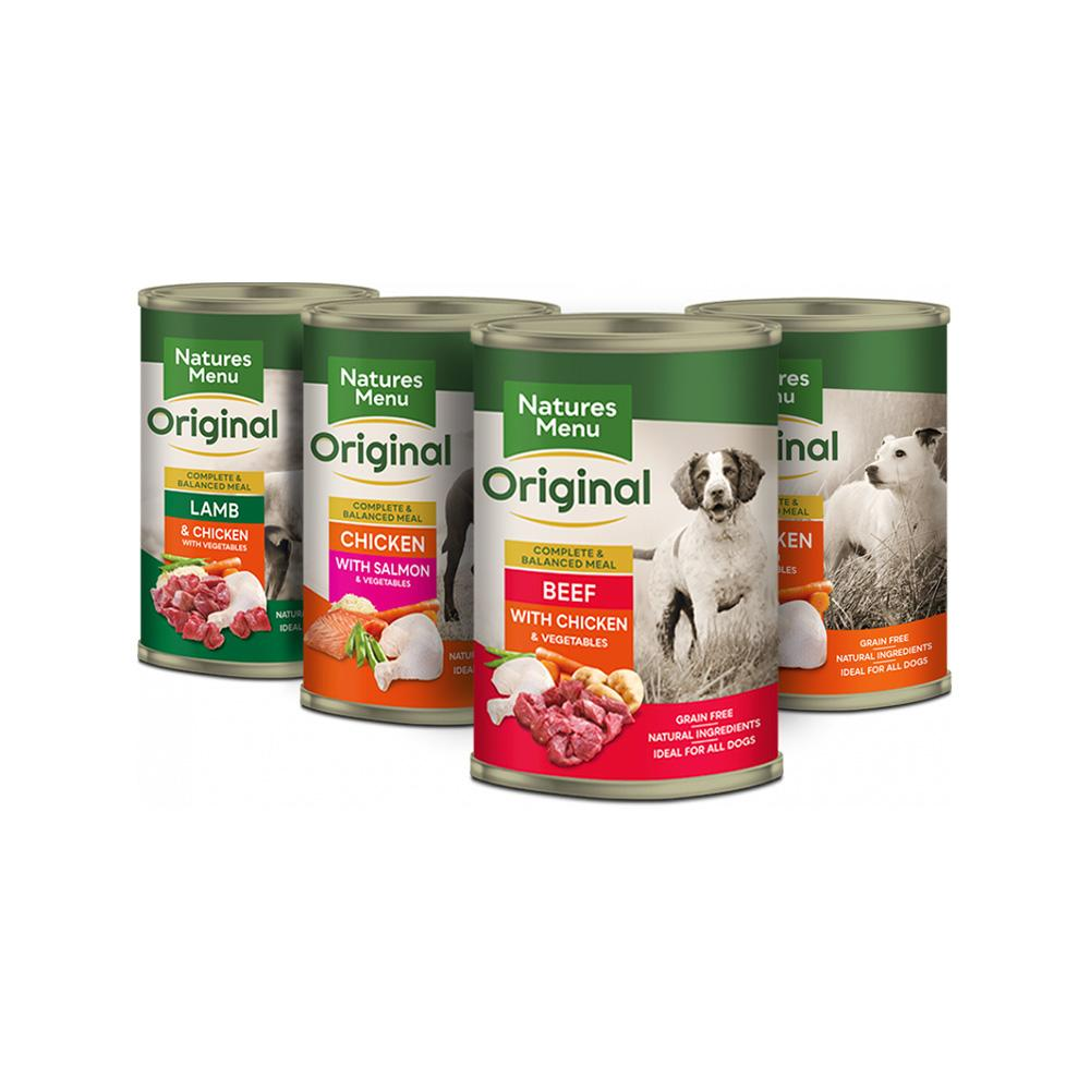 Natures Menu Original Cans - Multipack Dog Food - Wet Natures Menu