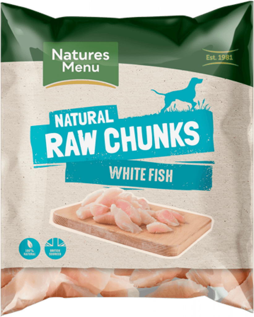 Natures Menu Raw Fish Fillet Dog Food - Frozen Natures Menu