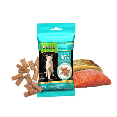 Natures Menu Salmon & Trout Mini Treats Cat Treats Natures Menu