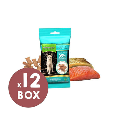 Natures Menu Salmon & Trout Mini Treats x 12 Cat Treats Natures Menu