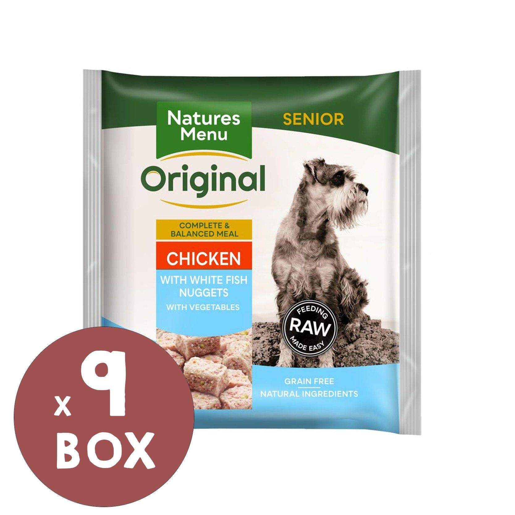 Natures Menu Senior Nuggets Bundle Dog Food - Frozen Natures Menu