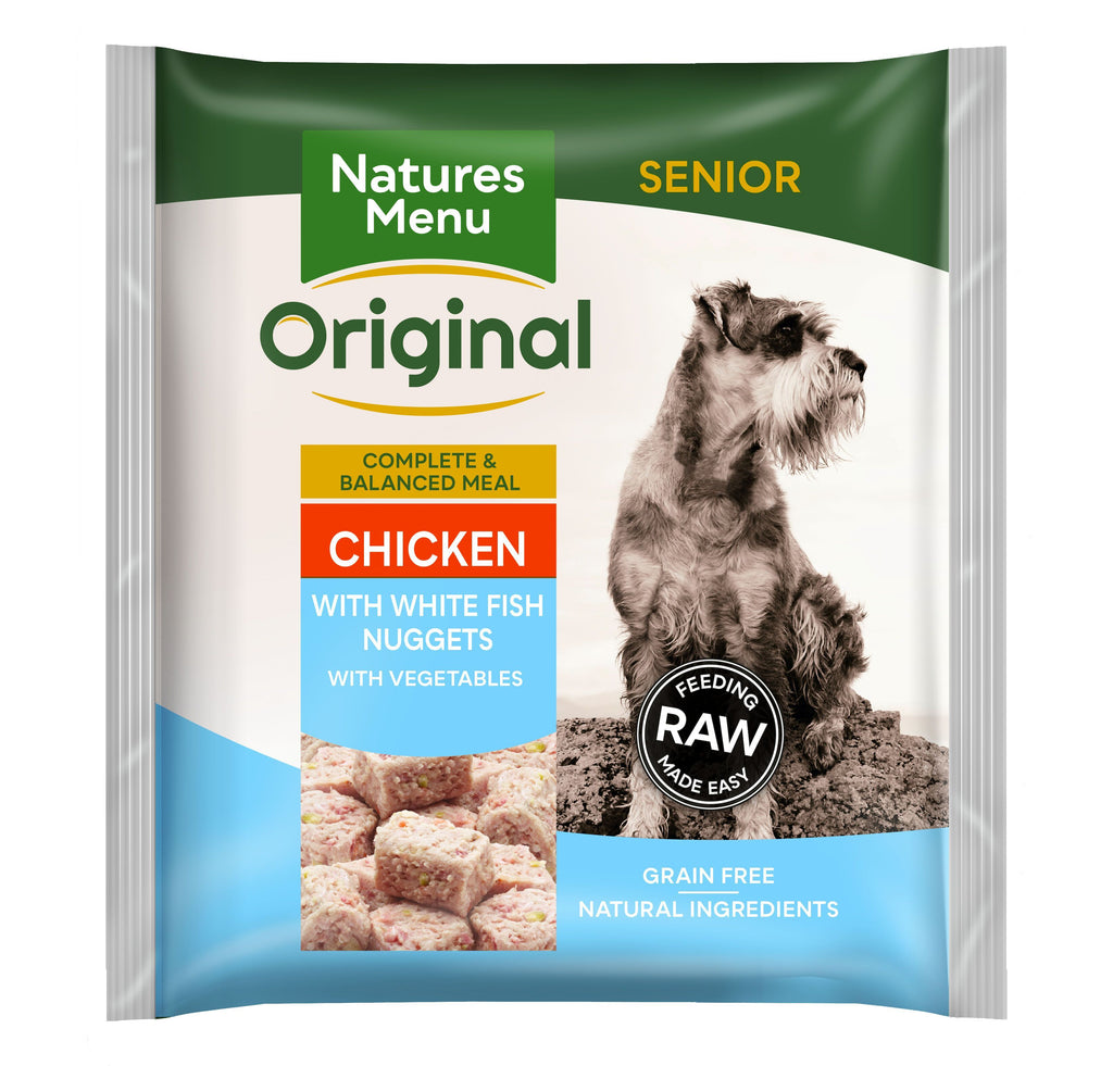 Natures Menu Senior Nuggets Dog Food - Frozen Natures Menu