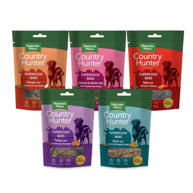 Natures Menu Superfood Bars Dog Treats Natures Menu
