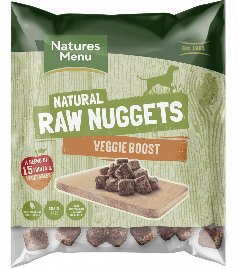 Natures Menu Veggie Boost Nuggets Dog Food - Frozen Natures Menu