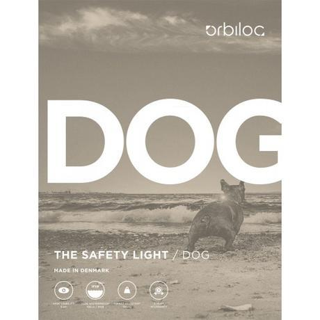 Orbiloc Dog Dual Safety Light - Yellow Dog Gadgets Orbiloc