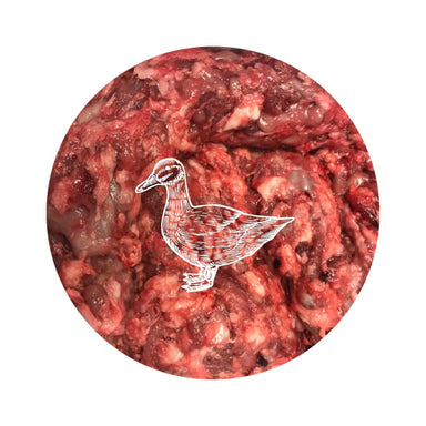 Paleo Ridge Duck Carcass Mince Dog Food - Frozen Paleo Ridge