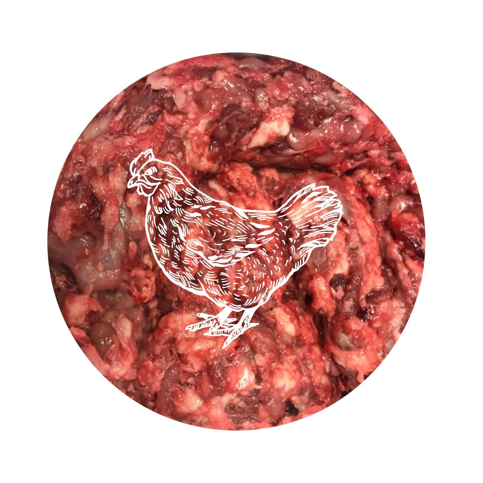 Paleo Ridge Organic Chicken Carcass Mince Dog Food - Frozen Paleo Ridge