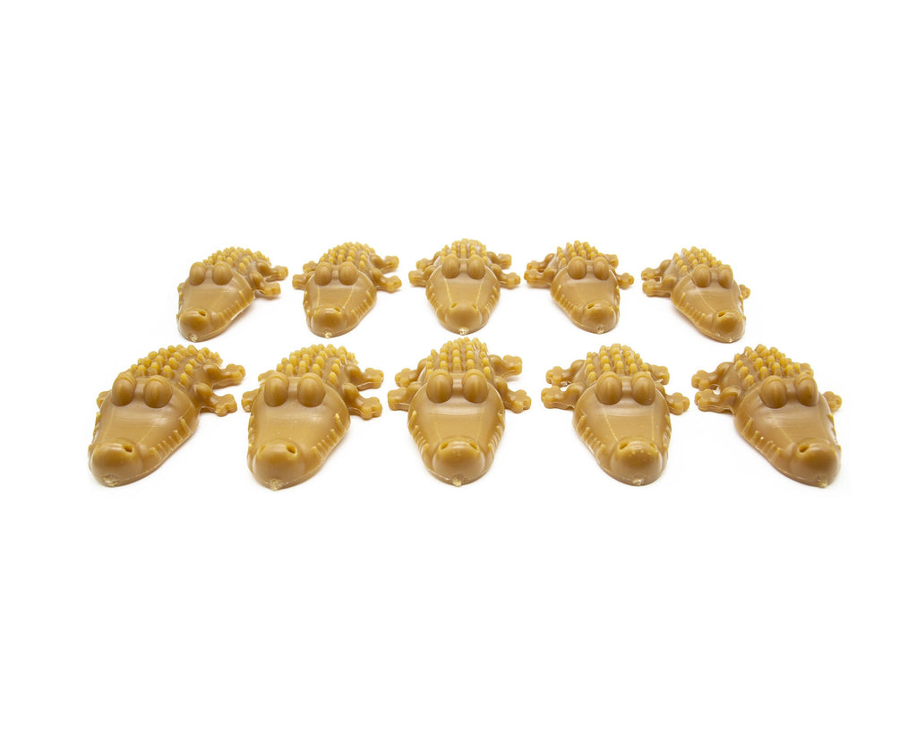 Peanut Butter Crocodile Bundle of 10 Dog Treats Natural Cornish Pet