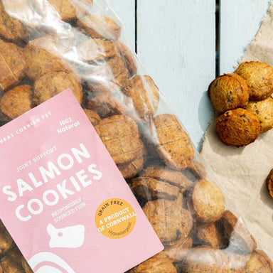 Salmon & Potato Cookies Dog Treats Natural Cornish Pet