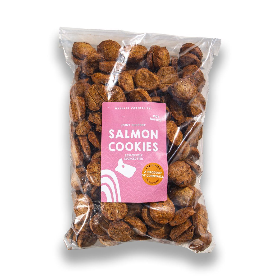 Salmon & Potato Cookies Grain Free by Just Fish Treats Dog Treats Just Fish Treats