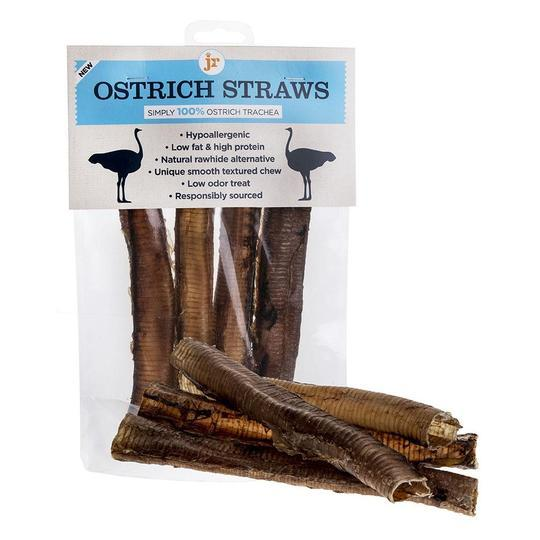Simply 100% Ostrich Treats & Chews Bundle for Dogs Dog Treats JR Pet Products