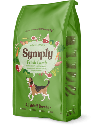Symply Adult Lamb & Rice Dog Food - Dry Symply
