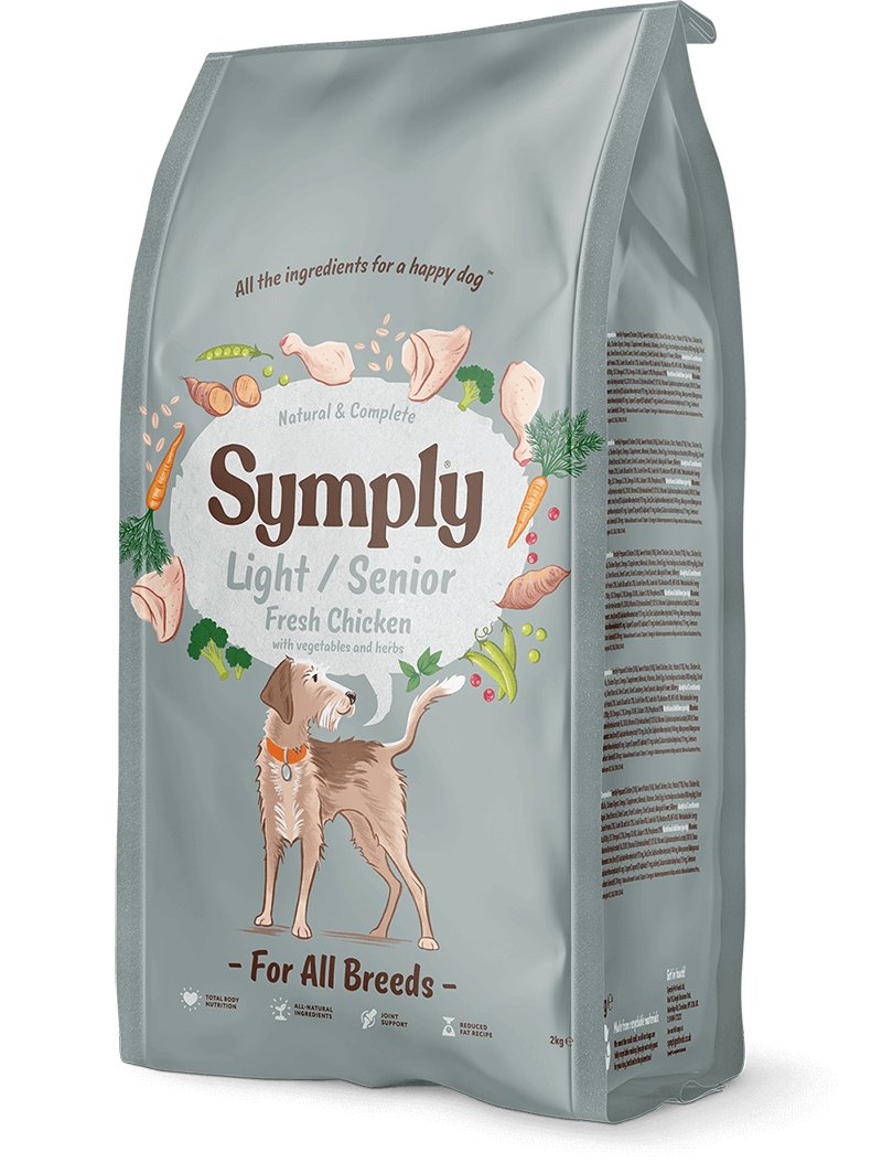 Symply Adult Light / Senior Dog Food - Dry Symply