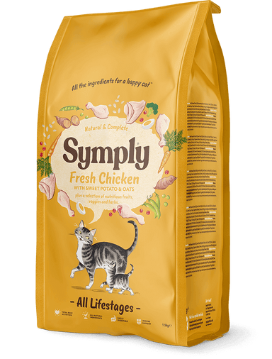 Symply Cat Chicken - All Lifestages Cat Food - Dry Symply