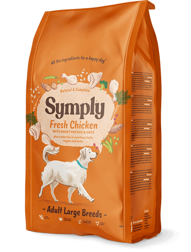 Symply Large Breed Adult Chicken Dog Food - Dry Symply