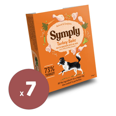 Symply Turkey Bake 395x7 Dog Food - Wet Symply