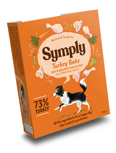 Symply Turkey Bake Dog Food - Wet Symply