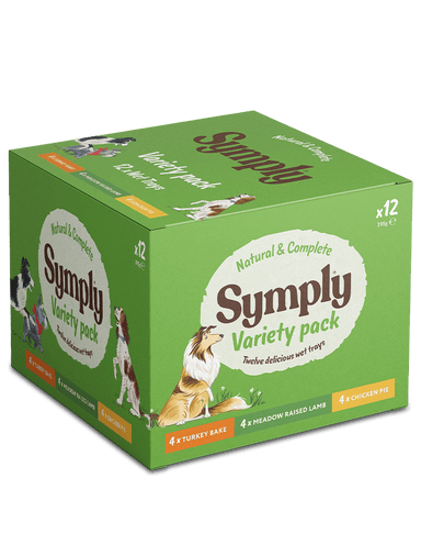 Symply Variety Pack x 12 Dog Food - Wet Symply