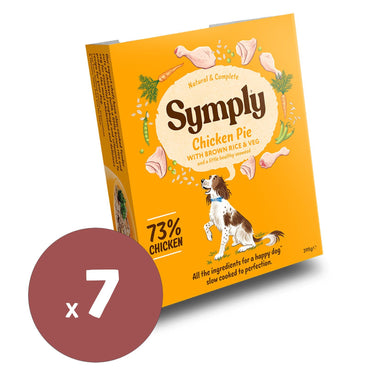 Symply Wet Food Adult Chicken Pie 395x7 Dog Food - Wet Symply