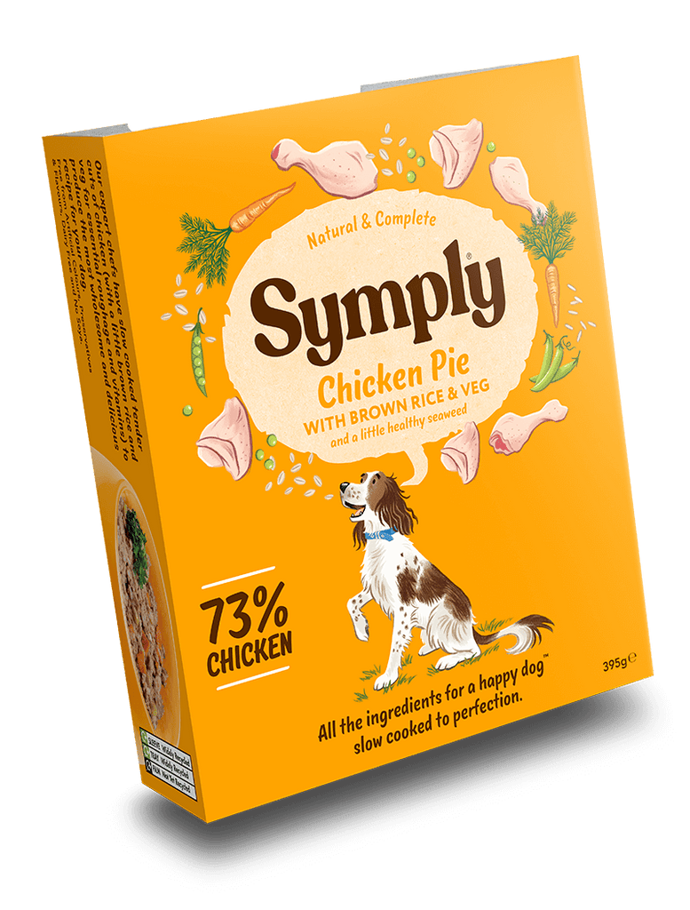 Symply Wet Food Adult Chicken Pie Dog Food - Wet Symply