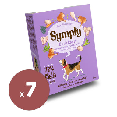 Symply Wet Food Duck Roast 395x7 Dog Food - Wet Symply