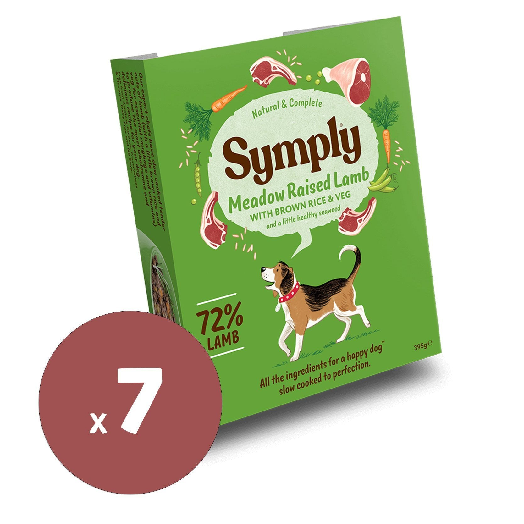 Symply Wet Food Meadow Raised Lamb 395x7 Dog Food - Wet Symply